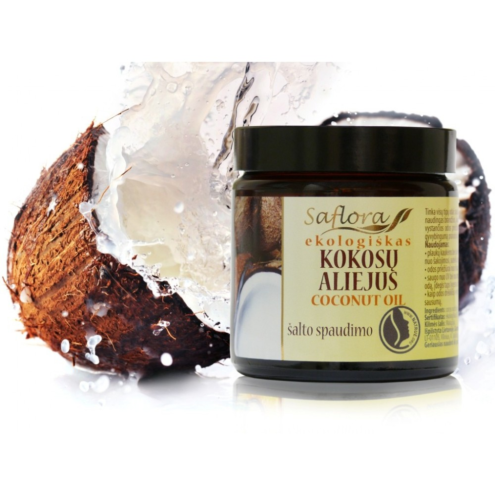 Kokosų aliejus, ekologiškas 100 ml