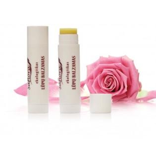 Natūralus lūpų balzamas rožių kvapo