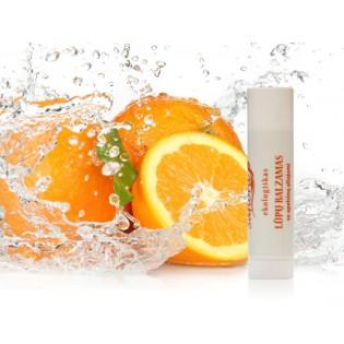 Natūralus lūpų balzamas apelsinų kvapo