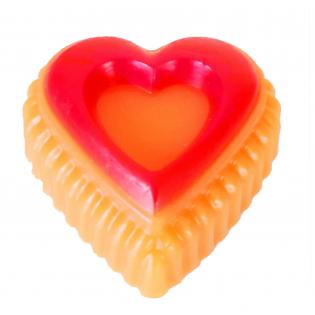 Rankų darbo muilas širdelė Greipfrutas 90 g | kanoshop.lt