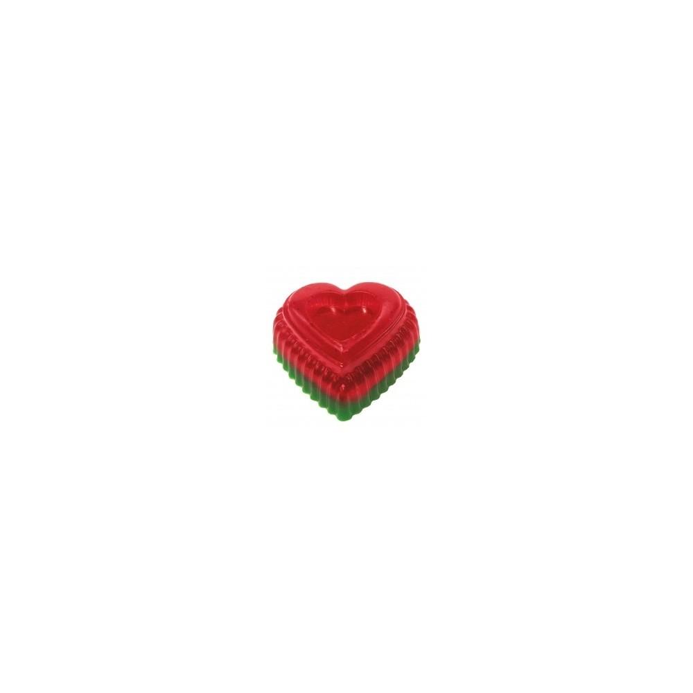 Rankų darbo muilas širdelė Arbūzas 90 g | kanoshop.lt