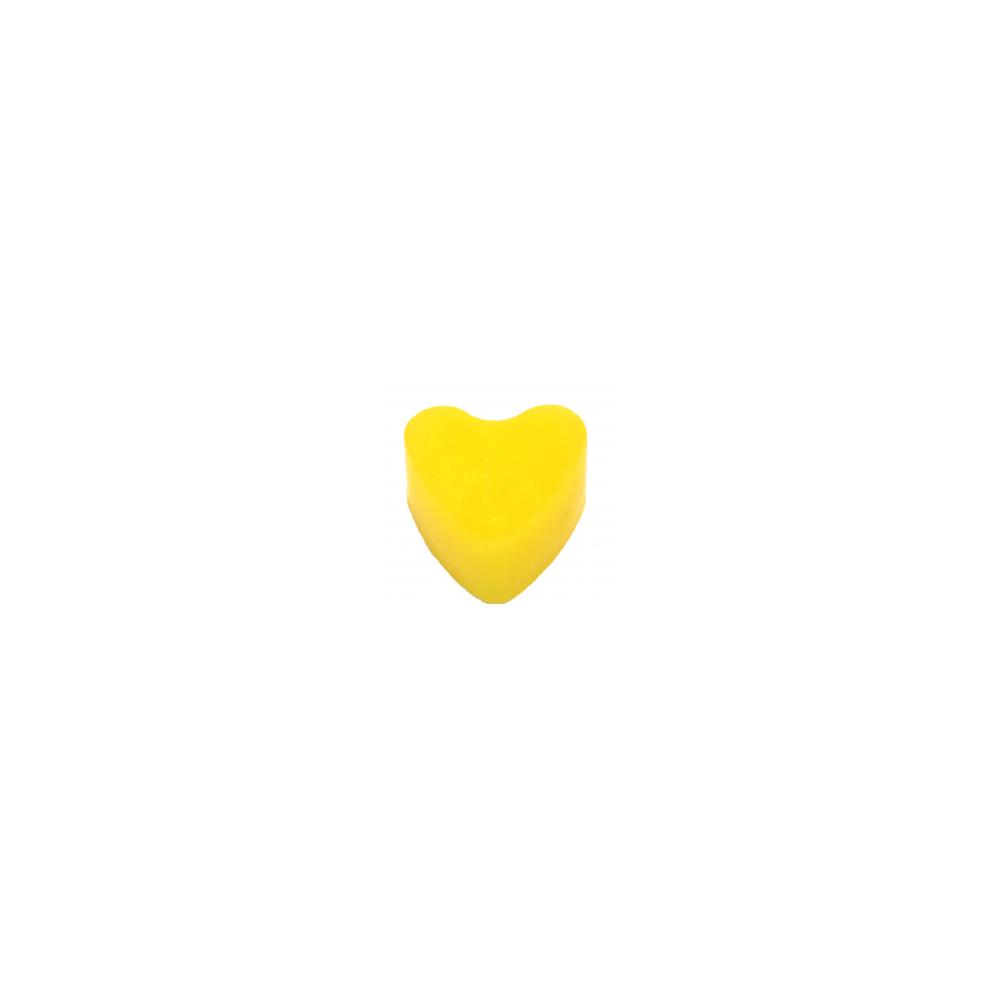 Rankų darbo muilas širdelė Bananas 70 g | kanoshop.lt