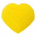 Bananas - rankų darbo muilas širdelė 90 g