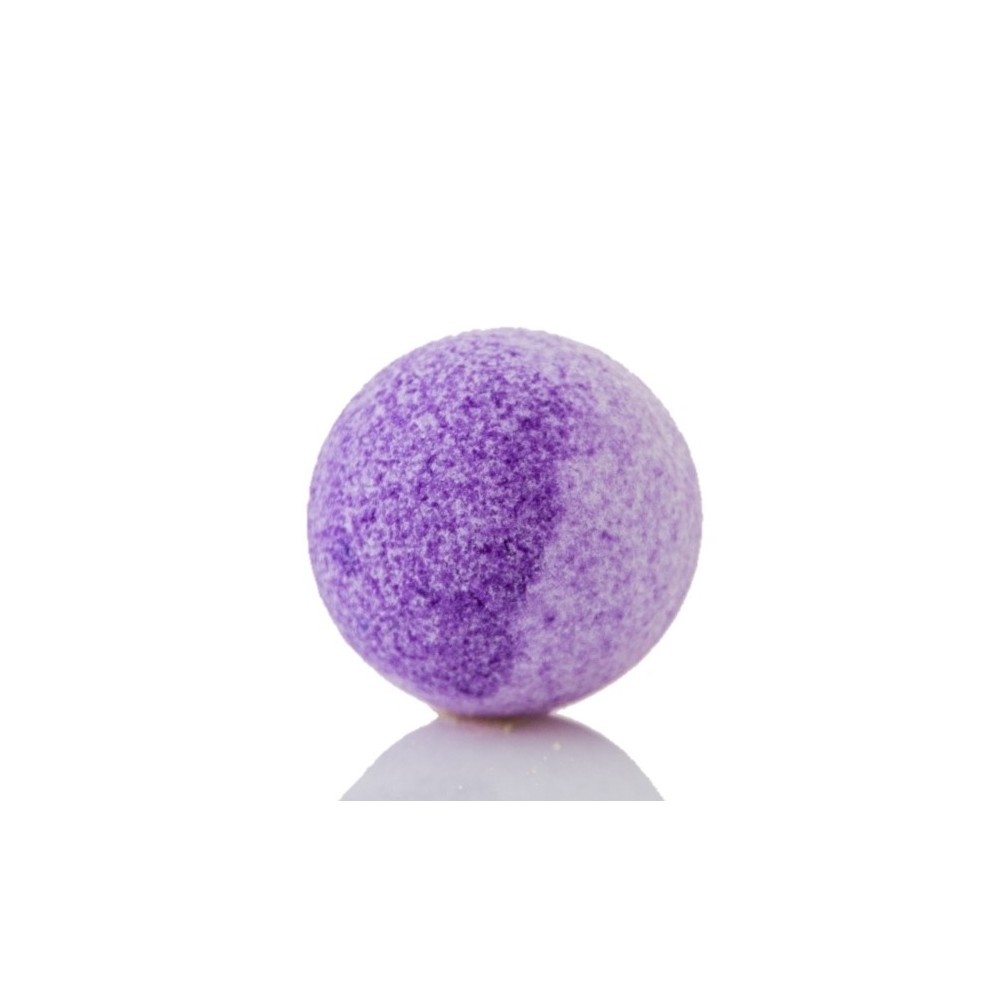 Jūros druskos burbulas Levanda 120 g | kanoshop.lt