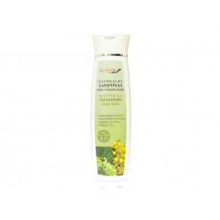 Stiprūs ir žvilgantys plaukai - natūralus šampūnas su argano aliejumi 200 ml