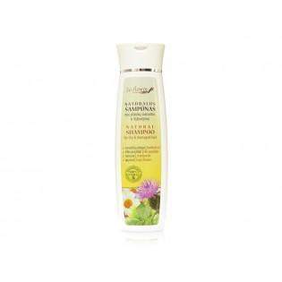 Natūralus šampūnas sausiems ir pažeistiems plaukams su varnalėšų aliejumi 200 ml |kanoshop.lt